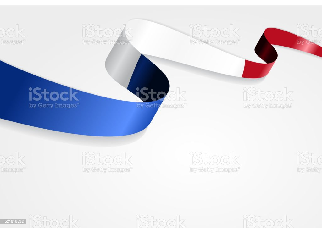 French flag background. Vector illustration vector art illustration