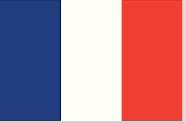 ilustrações, clipart, desenhos animados e ícones de bandeira francesa ou frança - bandeira da frança