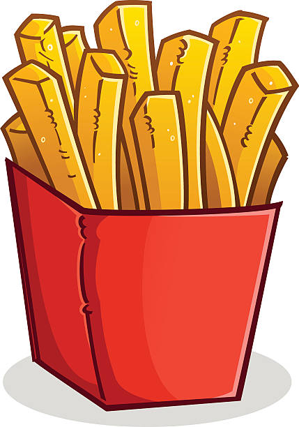 Royalty Free French Fries Clip Art, Vector Images ...
