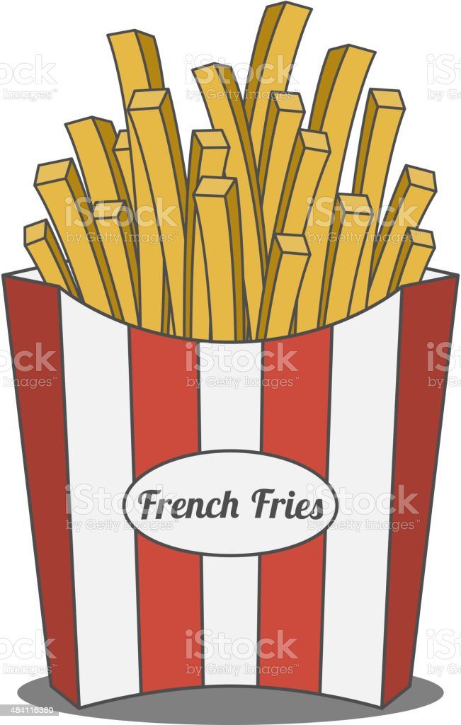 royalty free salting french fries clip art vector images rh istockphoto com french fries clipart png french fries clip art free