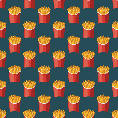 French Fries Pattern