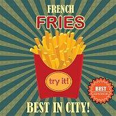 French fries potato