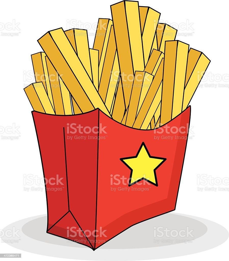 French Fries royalty-free french fries stock vector art & more images of deep fried