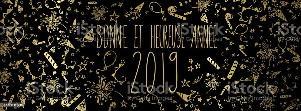 french happy new year 2019 royalty free french happy new year 2019 stock vector art