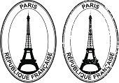 Stamp of France.