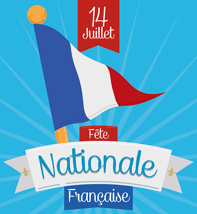 French Pennant to Celebrate National Day in July 14