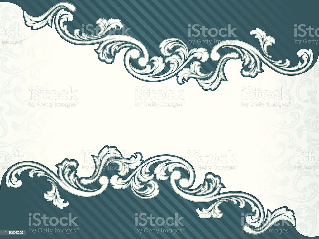 French retro banner in green royalty-free french retro banner in green stock vector art & more images of antique