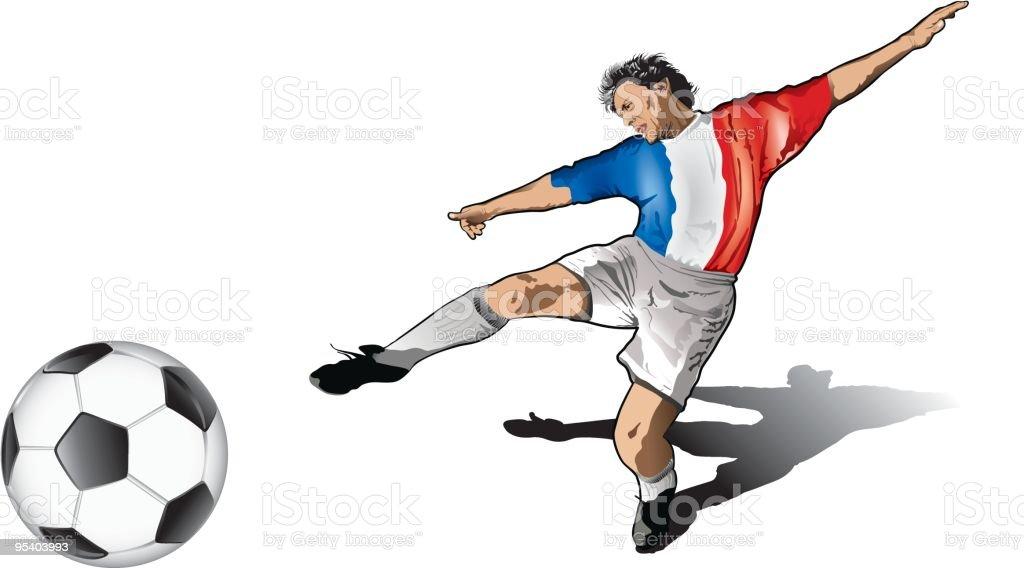 - soccer player Lizenzfreies soccer player stock vektor art und mehr bilder von 25-29 jahre