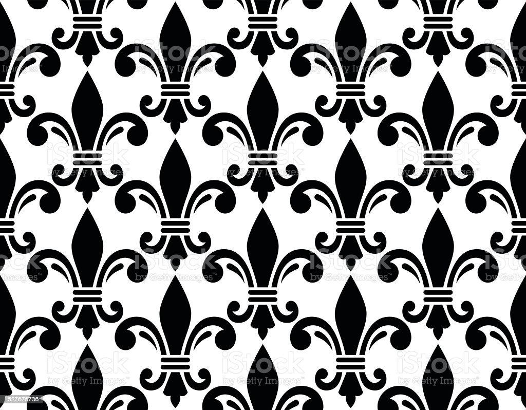 French style seamless pattern fleur de lis symbol stock vector art french style seamless pattern fleur de lis symbol royalty free french style seamless pattern biocorpaavc Gallery