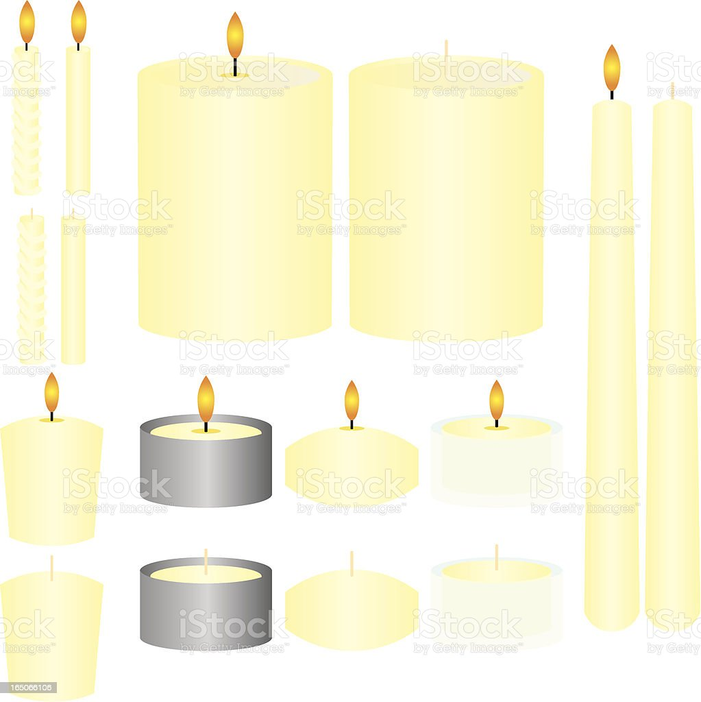 French Vanilla Candles royalty-free french vanilla candles stock vector art & more images of birthday