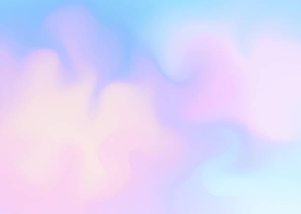 świeże abstrakcyjne tło w kolorach niebieskim i różowym. - pastelowy kolor stock illustrations