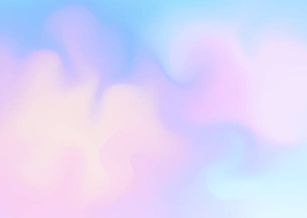 Fresh abstract background in blue and pink colors. EPS10. File don't contain any transparency.Layered. grouped. pastel background stock illustrations