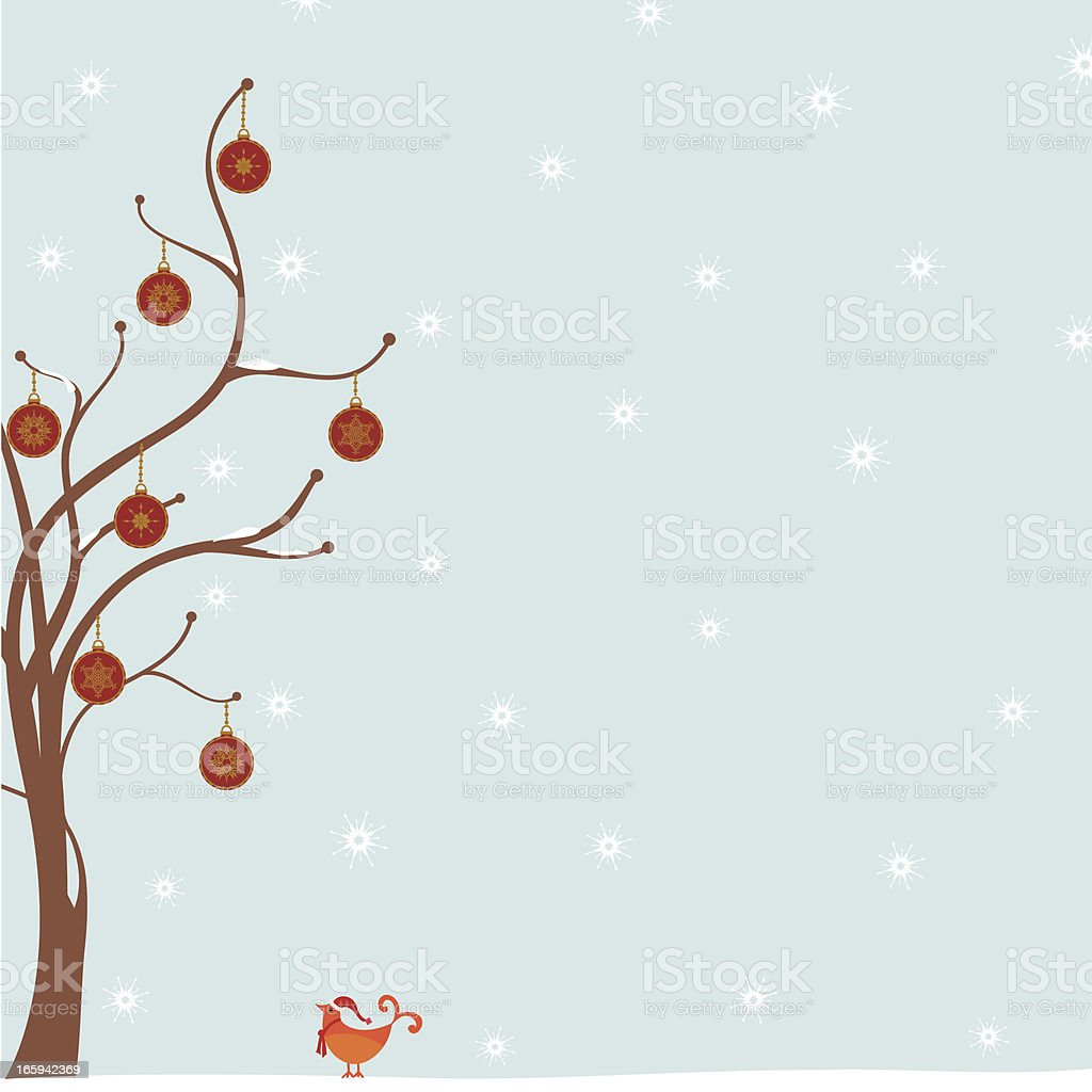 Fresh Air Festive Tree royalty-free stock vector art
