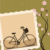 Fresh Air Sepia Bicycle