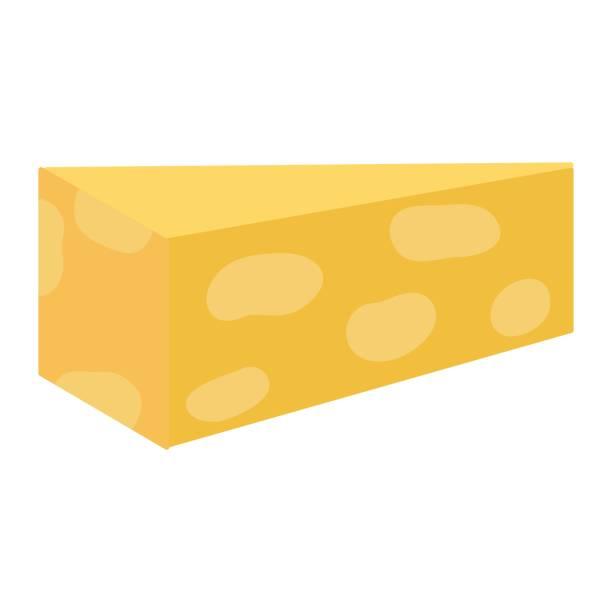 queso fresco y delicioso con ingredientes de la nutrición - ilustración de arte vectorial