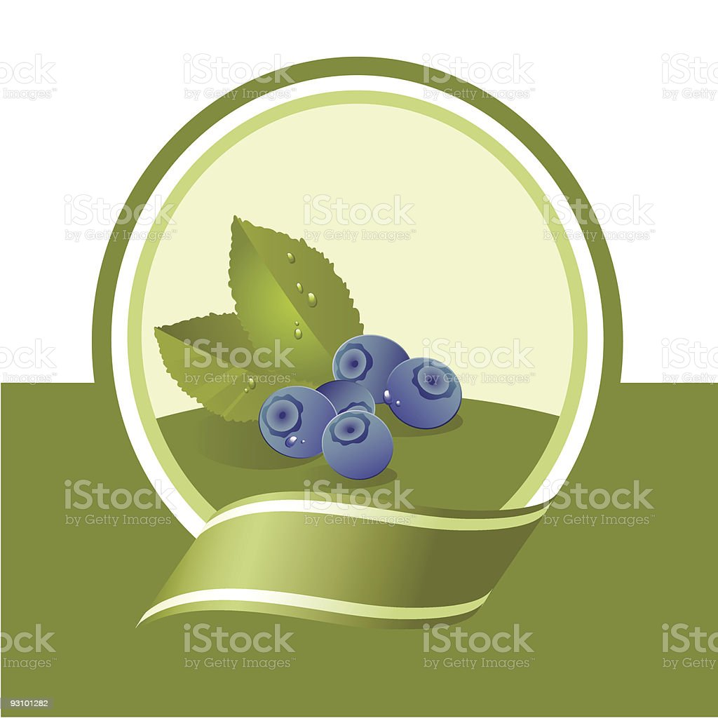 fresh bilberry royalty-free fresh bilberry stock vector art & more images of arrangement