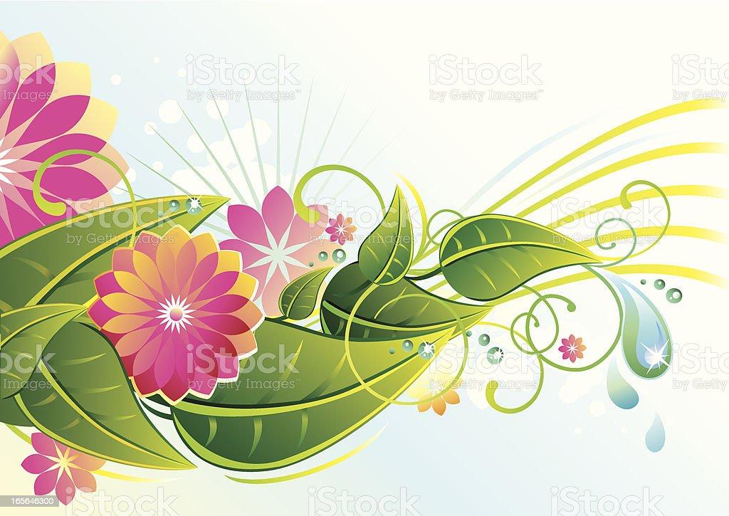 Fresh Blossom royalty-free stock vector art