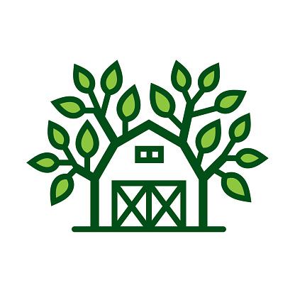 Fresh farm icon