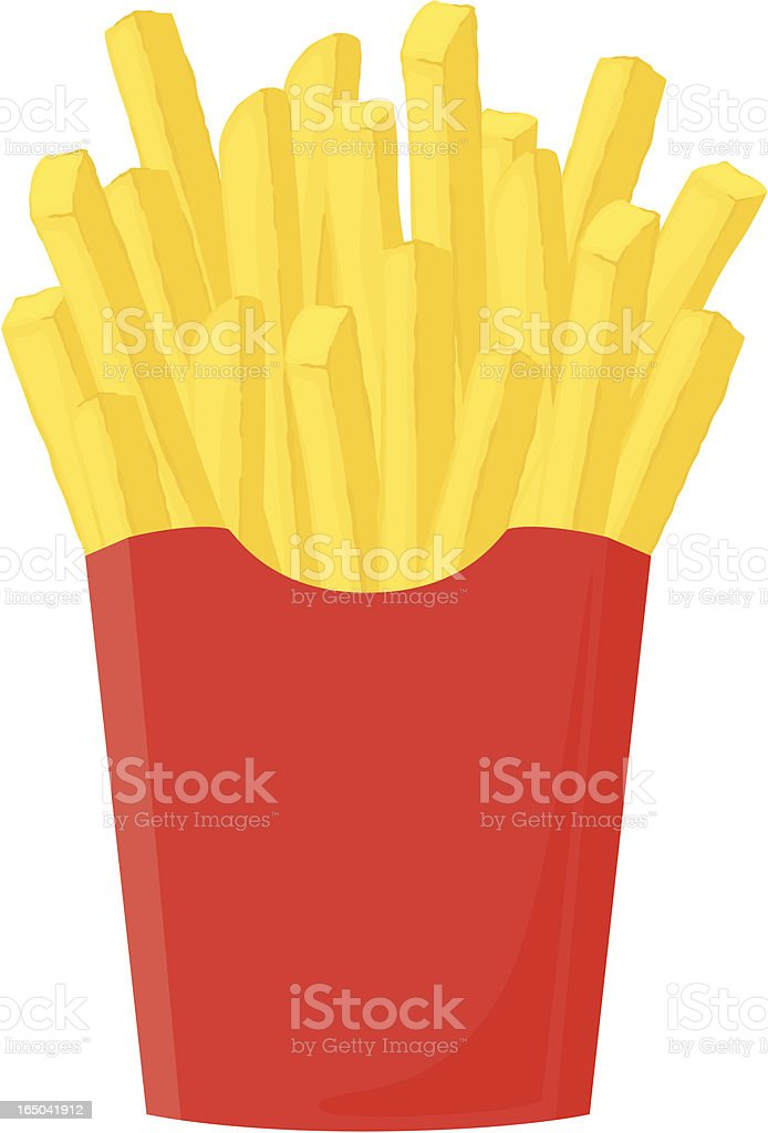 Fresh French Fries - incl. jpeg royalty-free stock vector art