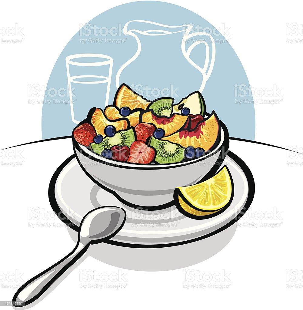 royalty free fruit salad clip art vector images illustrations rh istockphoto com fruit salad clipart png fruit salad clipart free