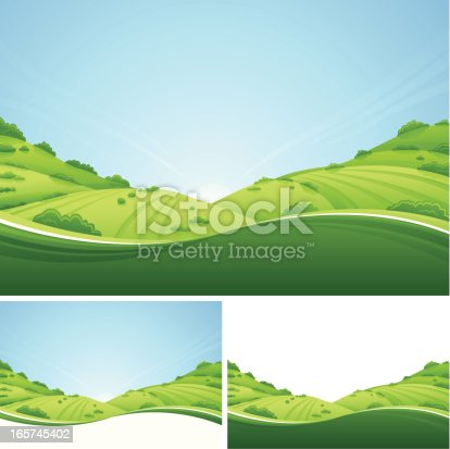 istock Fresh Landscape 165745402