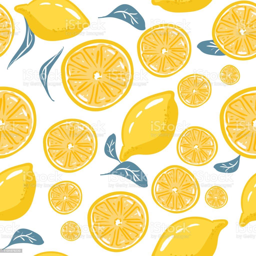 Fresh Lemons For Fabric Drawing Labels Print On Tshirt Wallpaper