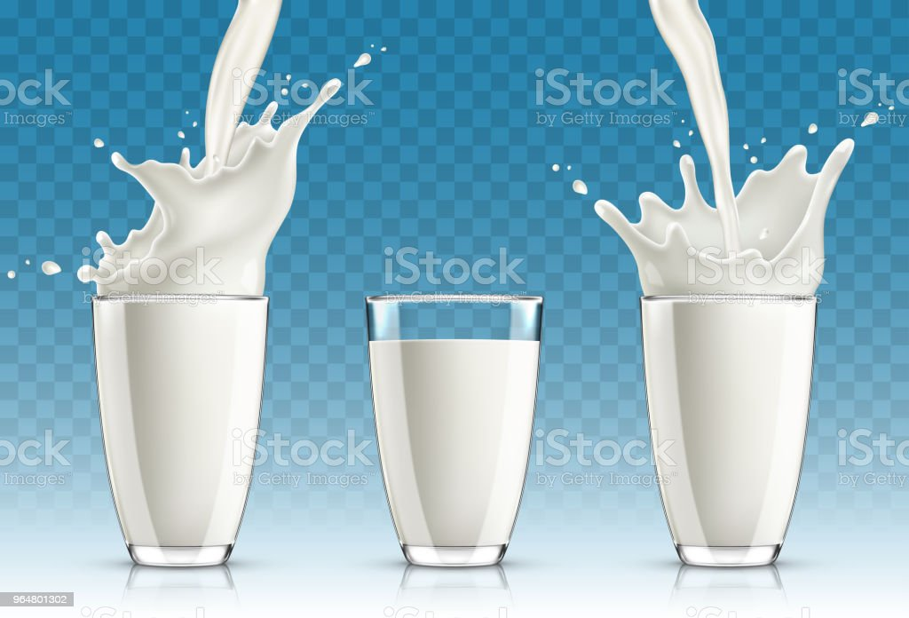 Fresh milk pouring into a glass and splashing royalty-free fresh milk pouring into a glass and splashing stock vector art & more images of abstract