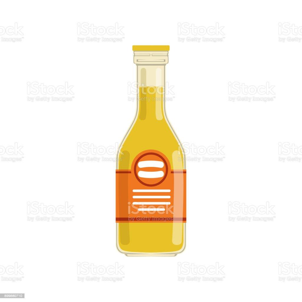 Frisch Gepresster Orangensaft Oder Limonade In Glasflasche Mit Roten ...