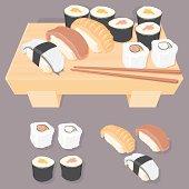 Fresh Sushi Selection