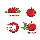 istock fresh tomato vector illustration design 1215907749