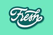 istock Fresh vector lettering 1319575527
