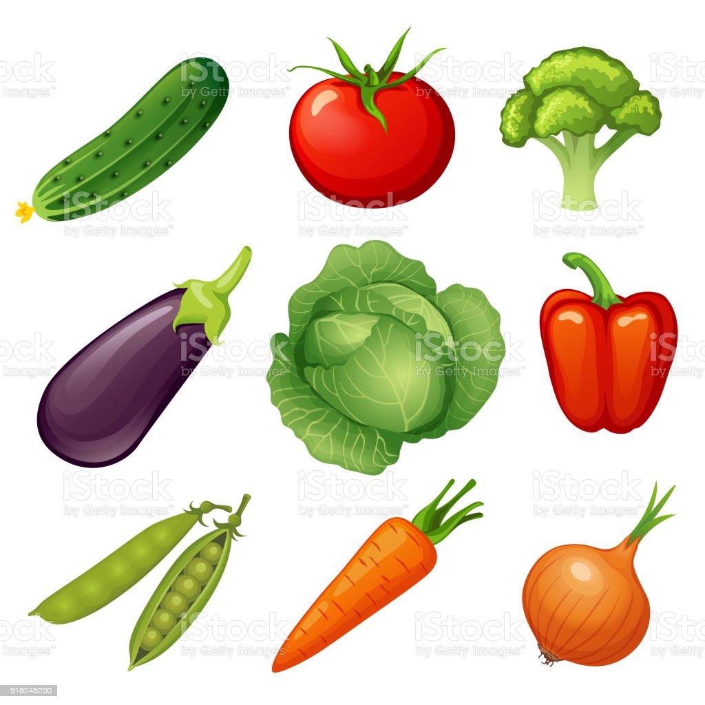 fresh vegetables vegetable icon vegan food cucumber tomato broccoli rh istockphoto com