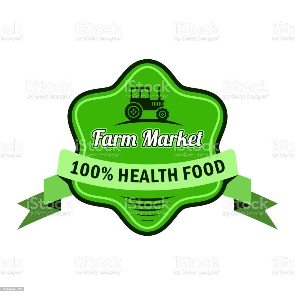 freshness logo for farm market and store stock vector art more
