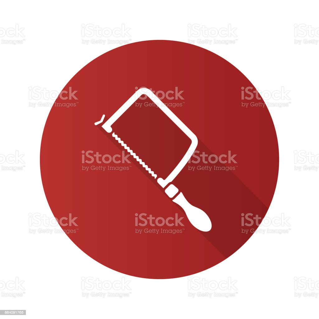 Fretsaw flat design icon royalty-free fretsaw flat design icon stock vector art & more images of business finance and industry