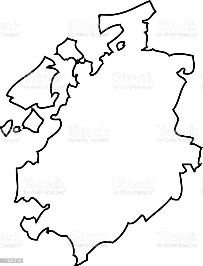 Freiburg Schweiz Karte.Fribourg Eine Karte Der Schweiz Stock Vektor Art Und Mehr