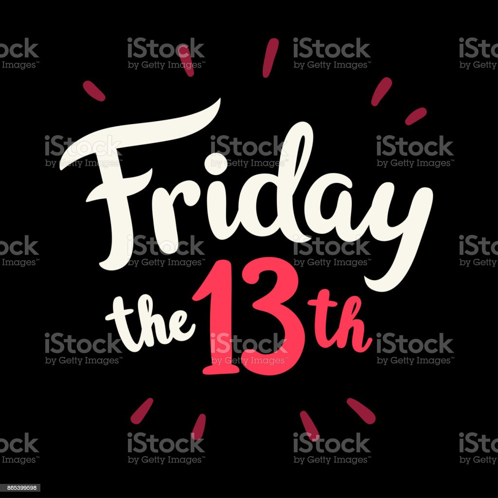 royalty free friday the 13th clip art vector images illustrations rh istockphoto com friday the 13th clipart free friday the 13th clipart free