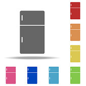 fridge icon. Elements of web in multi colored icons. Simple icon for websites, web design, mobile app, info graphics