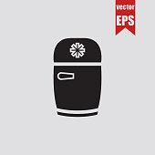 Fridge icon.Vector illustration.