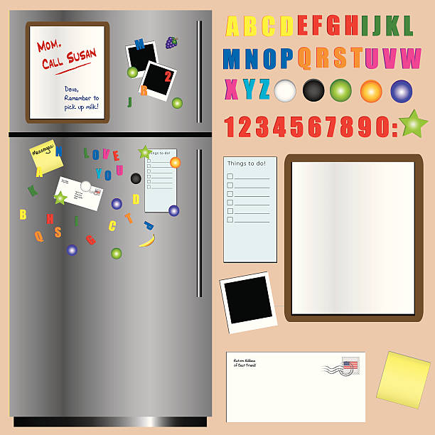 Fridge magnets Series - II Various fridge magnets. Package includes ai, eps, and high resolution jpeg files. If you like this file, you may also find the following file useful as well: refrigerator stock illustrations