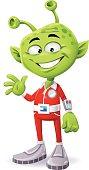 Friendly Green Alien