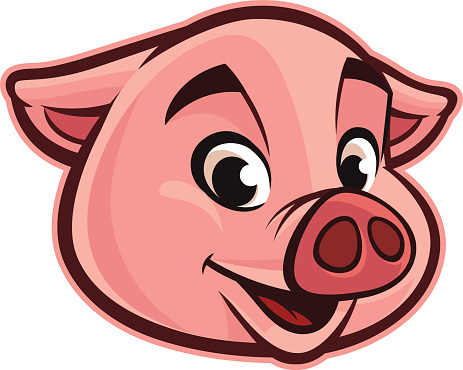 Friendly Pig Head