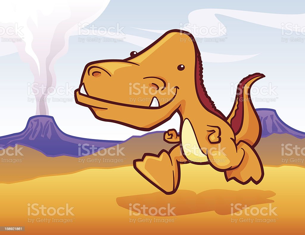 Friendly T-Rex royalty-free friendly trex stock vector art & more images of activity
