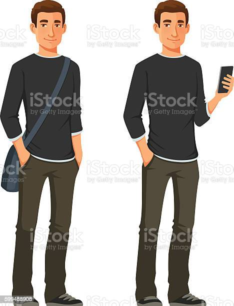 Friendly young man in casual clothes vector id599488908?b=1&k=6&m=599488908&s=612x612&h=hz 9bdjvjwb bbzwhklyoumctfqc ulveu56ea4zyiq=