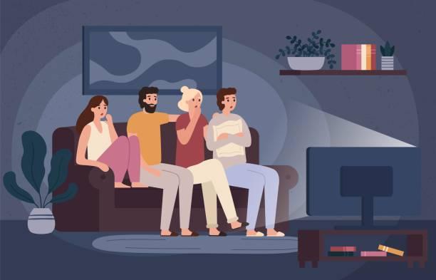 376 Friends Watching Movie Illustrations & Clip Art - iStock