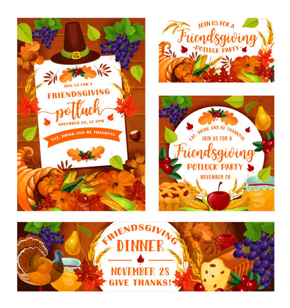 Top 60 Holiday Potluck Clip Art Vector Graphics And Illustrations