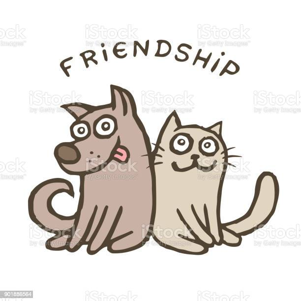Friendship dog and cat vector id901886564?b=1&k=6&m=901886564&s=612x612&h=3ifi6wjevp4qthwp apoypaqprj6sqljiydphavvttq=