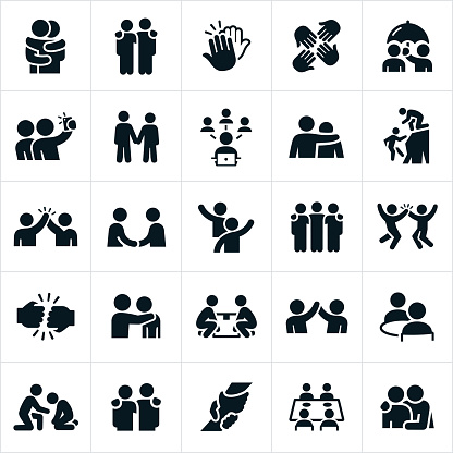 Friendship Icons clipart
