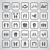 friendship symbol set