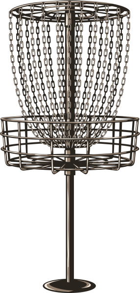 frisbee golf goal