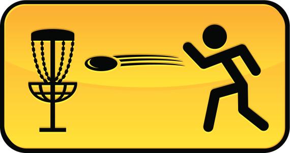 frisbee golf sign